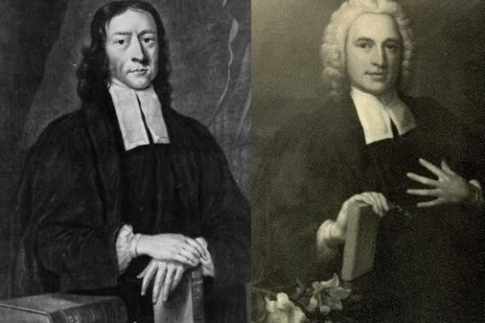 John (left) and Charles Wesley