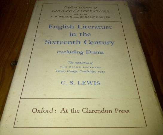 English Literature in the Sixteenth Century Excluding Drama by CS Lewis