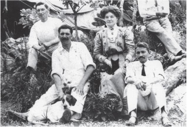 Gandhi in 1910